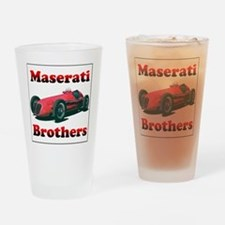 Maserati4CLT-4 Drinking Glass