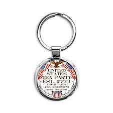 ustp_lt_cp Round Keychain
