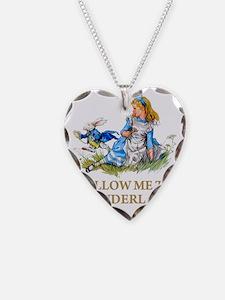ALICE_BLUE_FOLLOW ME_GOLDx co Necklace