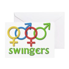 swingers Greeting Card