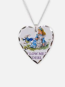 ALICE_BLUE_FOLLOW ME_PURPLEx  Necklace