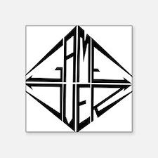 "ivittshirtgameover_logga Square Sticker 3"" x 3"""