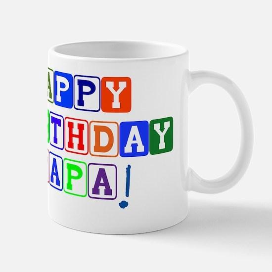 Happy Birthday Papa Mug