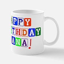 Happy Birthday Nana Mug