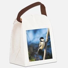 2-ornament Canvas Lunch Bag