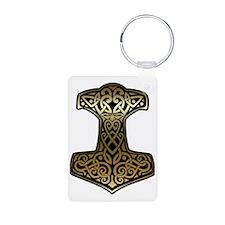 Thor__s_Hammer_brass Keychains