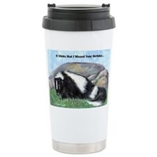 skunk55x75bdaylate Travel Coffee Mug