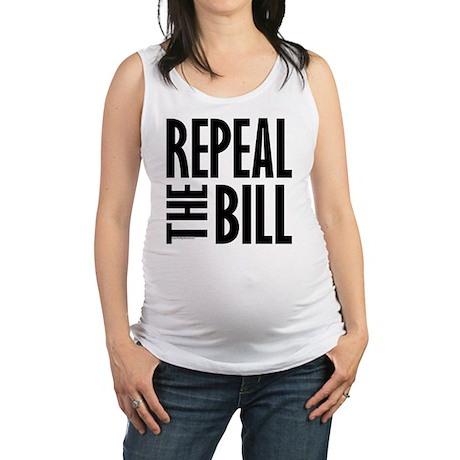 REPEALtheBILL-B Maternity Tank Top