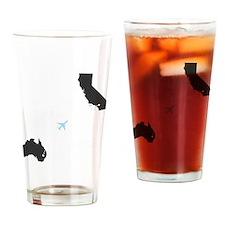 whateverhappenedGRAY2 Drinking Glass