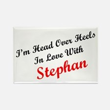 In Love with Stephan Rectangle Magnet