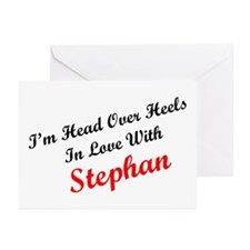 In Love with Stephan Greeting Cards (Pk of 10)