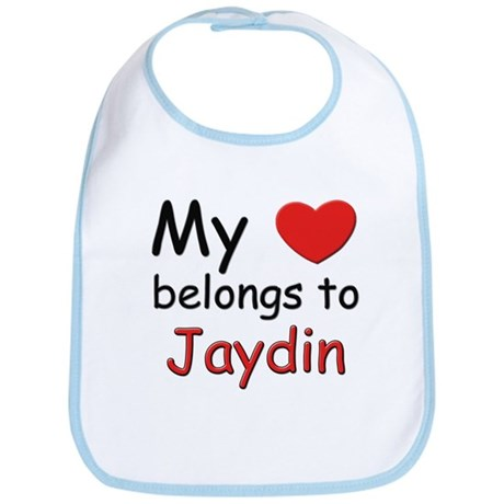 My heart belongs to jaydin Bib