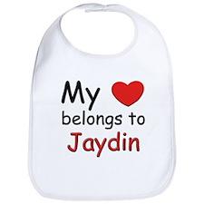 My heart belongs to jaydin Bib