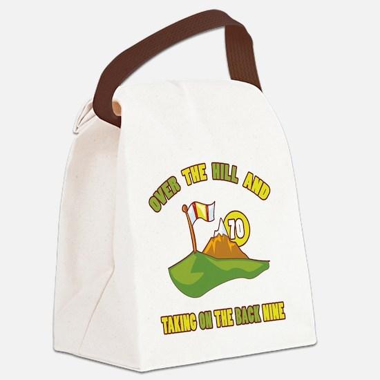 backnine70 Canvas Lunch Bag