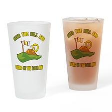 backnine70 Drinking Glass