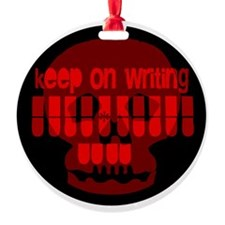 Keep on writing Ornament