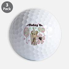 monkflower4 Golf Ball