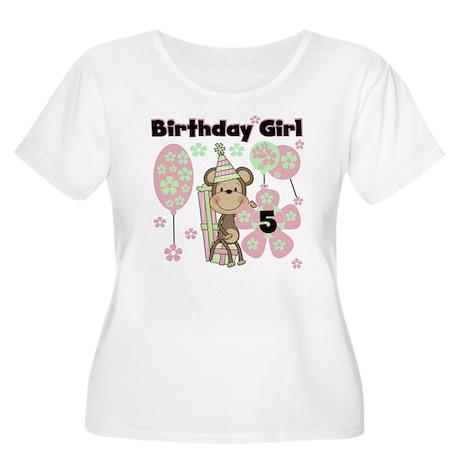 monkflower5 Women's Plus Size Scoop Neck T-Shirt