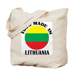 Made In Lithuania Tote Bag