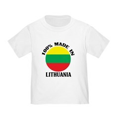Made In Lithuania Toddler T-Shirt
