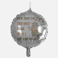 lines75 Mylar Balloon