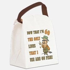 lines60 Canvas Lunch Bag