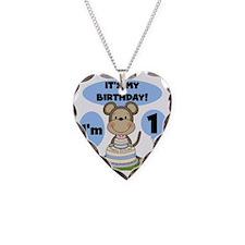 monkkone Necklace Heart Charm