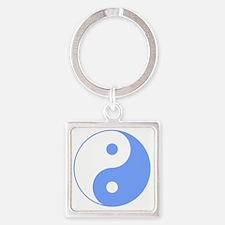 Yin_Yang Square Keychain