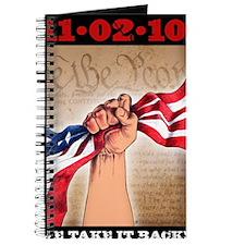 Take It Back postcard Journal