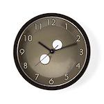Vintage Button Art Deco Wall Clock