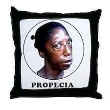 PROPECIA WHITE Throw Pillow