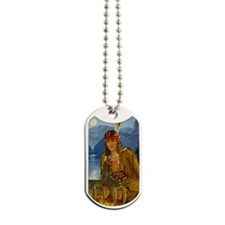 INDIAN MAIDEN Dog Tags