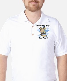 monkboy4 Golf Shirt