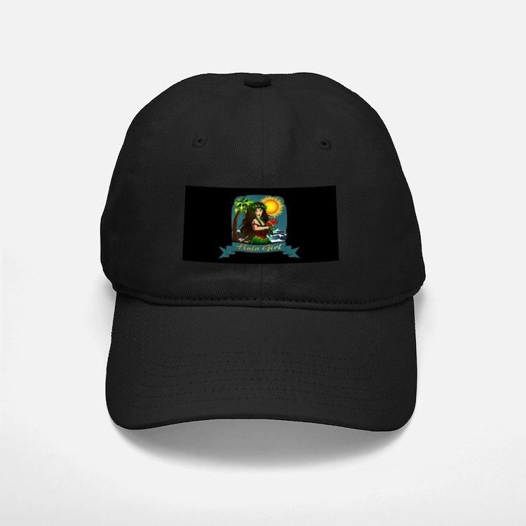 Hula Girl Baseball Hat