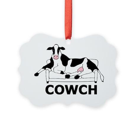 COWCH1 Picture Ornament