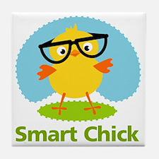 smart-chick Tile Coaster
