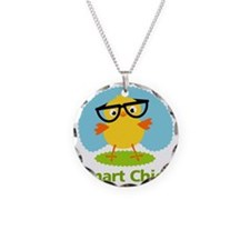 smart-chick Necklace Circle Charm