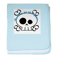 rotten to the bone baby blanket