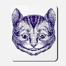 Cheshire Cat Purple Mousepad