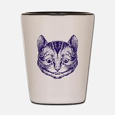 Cheshire Cat Purple Shot Glass