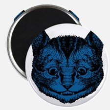 Cheshire Cat Blue Fill Magnet
