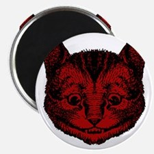 Cheshire Cat Red Fill Magnet