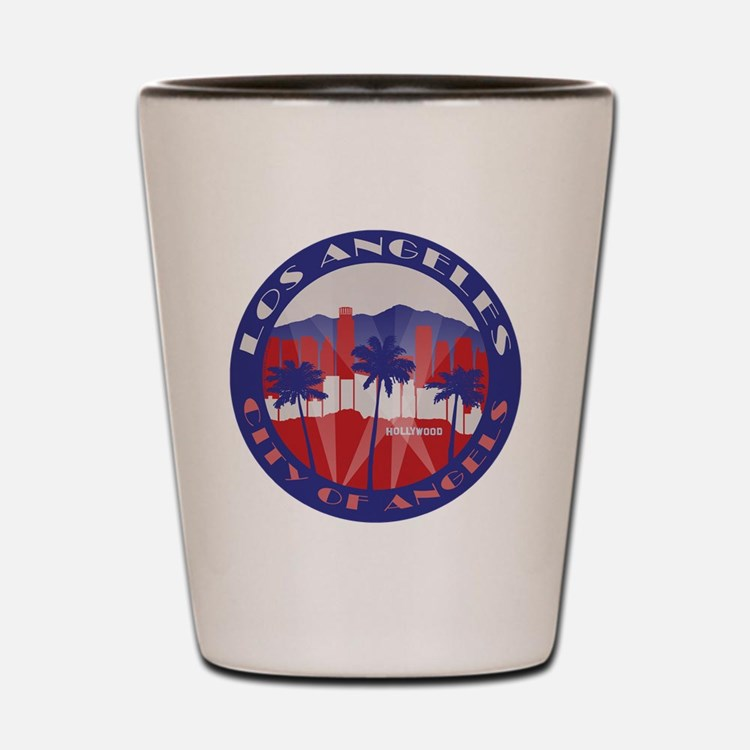 LA City of Angels patriot Shot Glass