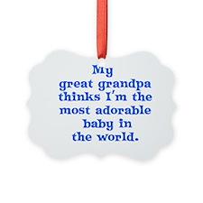 2-great_grandpa Ornament