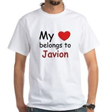 My heart belongs to javion Shirt