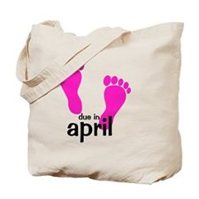 pinkfeet_duein_april Tote Bag