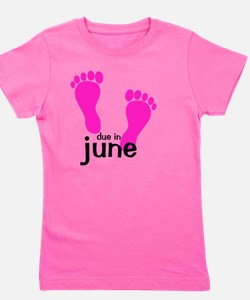 pinkfeet_duein_june Girl's Tee