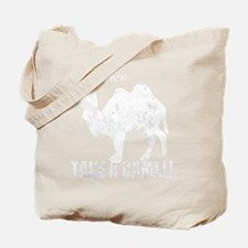 Camel -blk Tote Bag