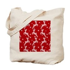 Sleepy Santa Tote Bag