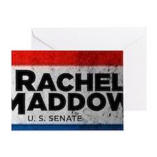 ART Sticker Rachel Maddow for Senate Greeting Card